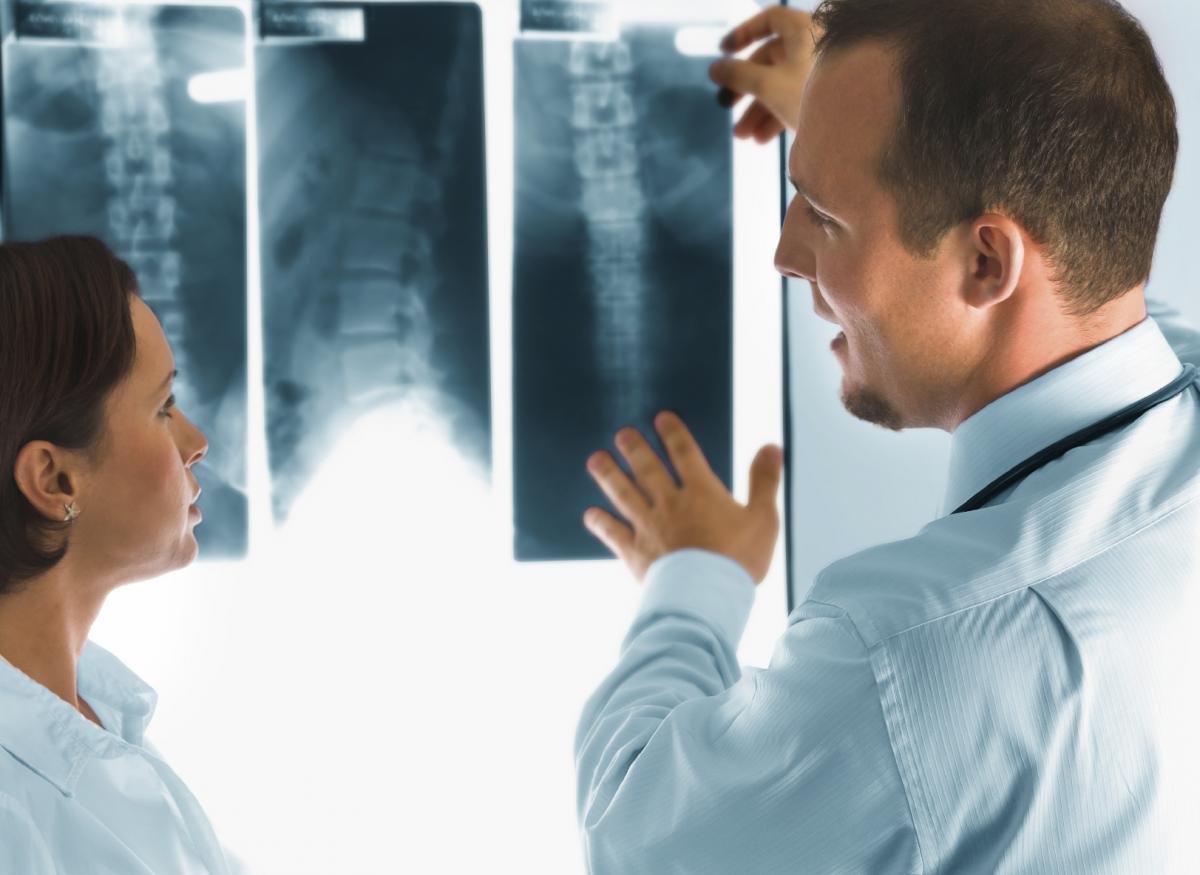 rentgen na dom